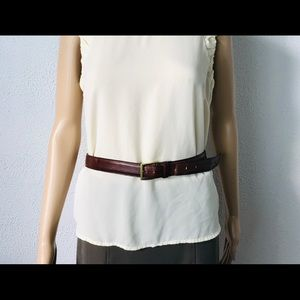 Dooney&Bourke Leather Belt